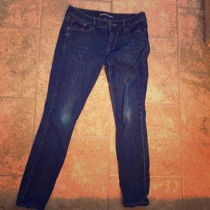 Express Low Rise Leggings Jeans 6R